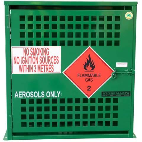 aerosol storage cabinet - 108 can