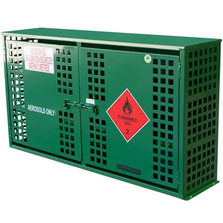 aerosol storage cabinet - 216 can