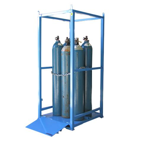 Gas Cylinder Storage Cage Small Iqsafety