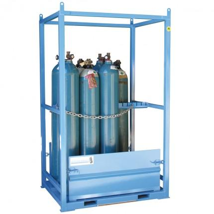 gas cylinder storage cage - large