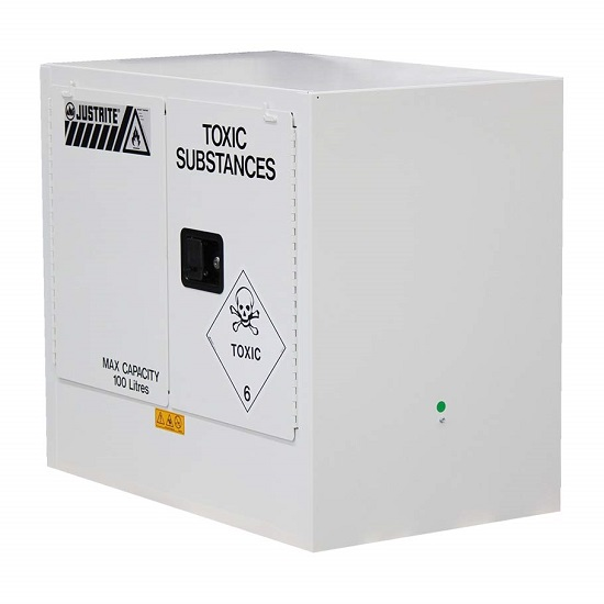Medium Toxic Substances Storage Cabinet