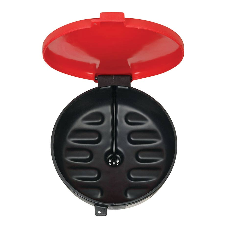 red black oil drum funnel