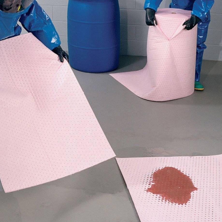 Hazardous Chemical Absorbent Mats & Rolls