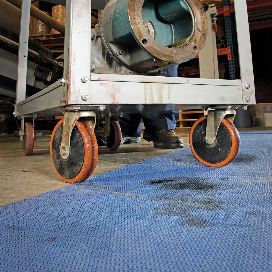 Adhesive Grippy Absorbent Mats