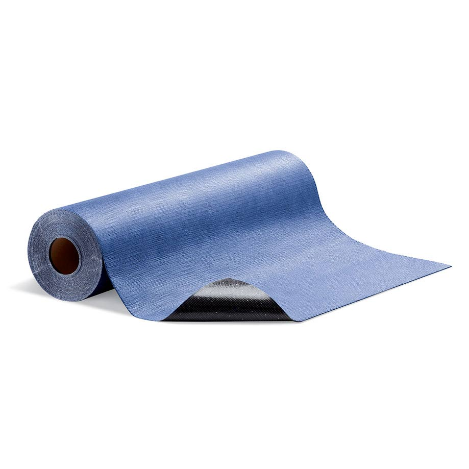 Adhesive Grippy Absorbent Roll Blue