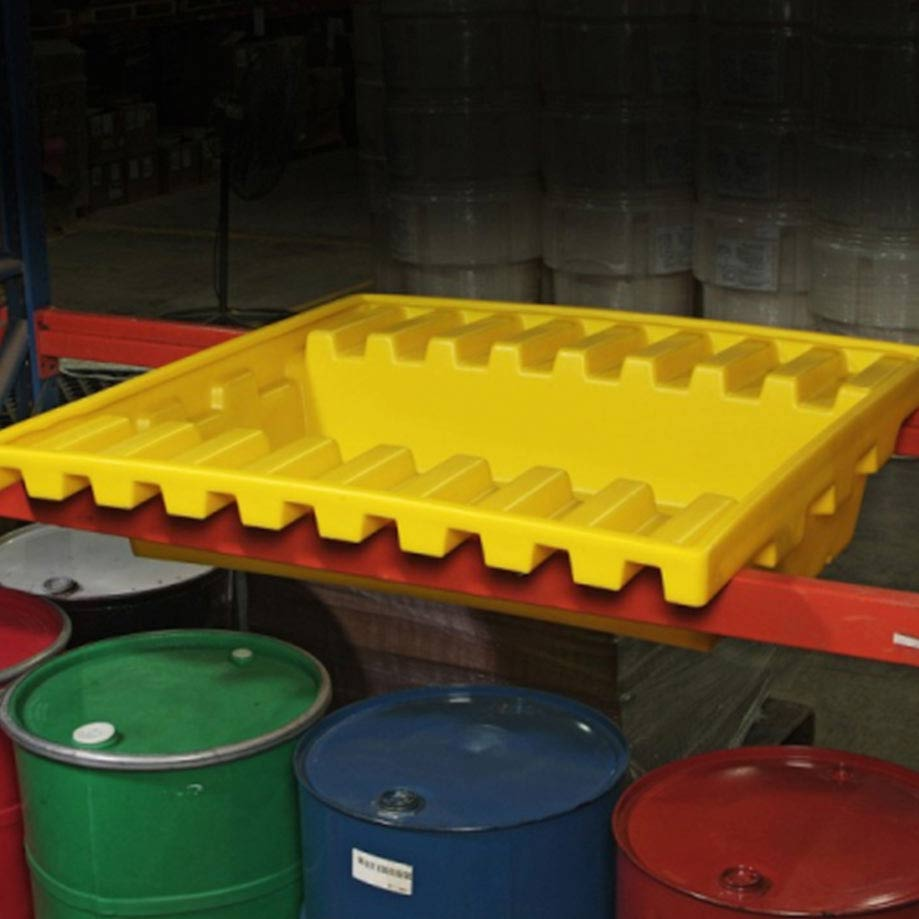 Yellow Spill Containment Pallets Australia
