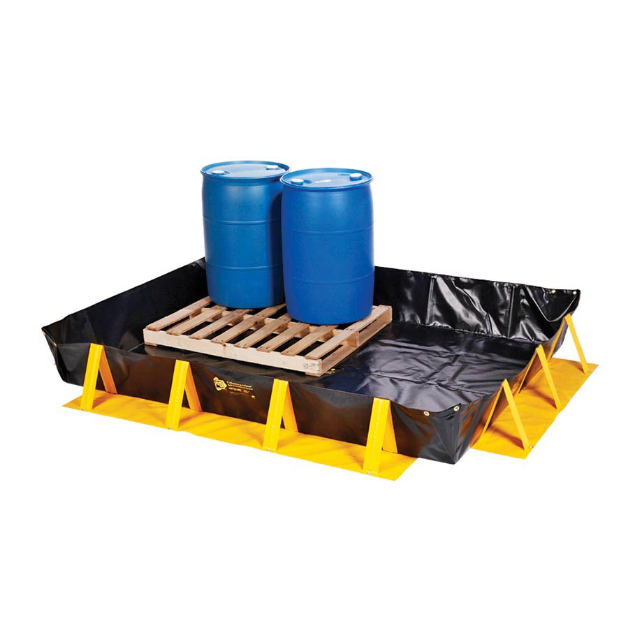 collapsible spill containment products