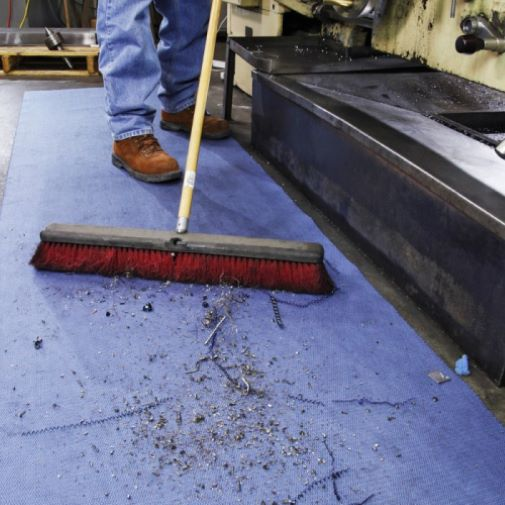 Adhesive Grippy Absorbent Mat