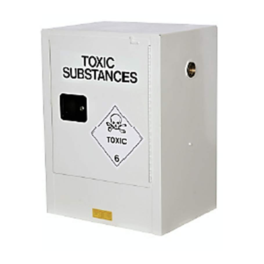 Small Toxic Substances Storage Cabinet