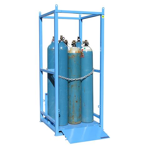 gas cylinder storage cage - small