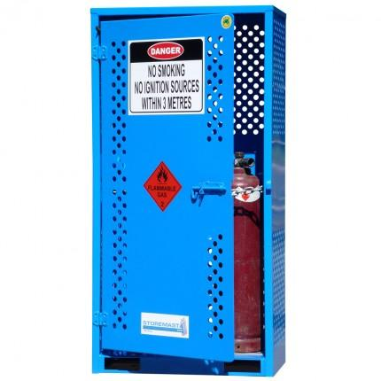 gas cylinder storage cabinet - small
