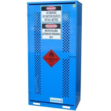 gas cylinder storage cabinet - medium