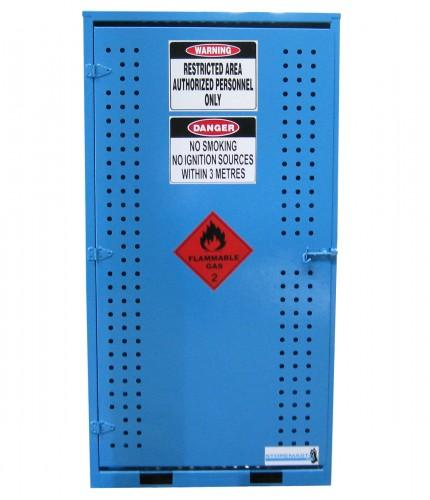 gas cylinder storage cabinet - large